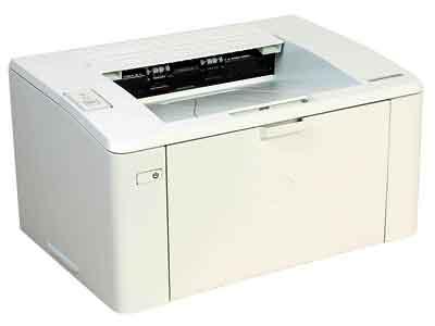 Как узнать общее количество напечатанных страниц HP M104?