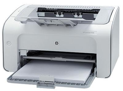 Как выяснить количество отпечатанных принтером HP P1102 страниц?