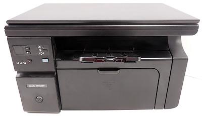 Как узнать общее количество напечатанных страниц МФУ HP M1132