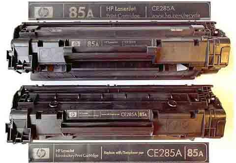 Стартовый картридж laserjet cs 285a