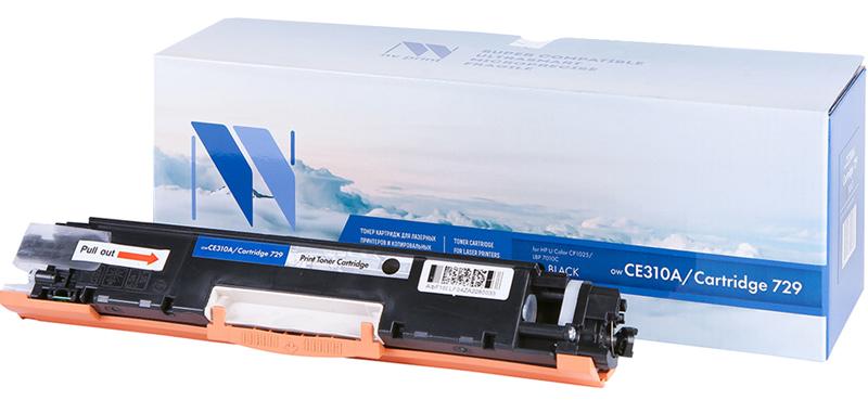 CE310A картридж для HP Color CP1020, CP1025, M175a, M275 (Black)