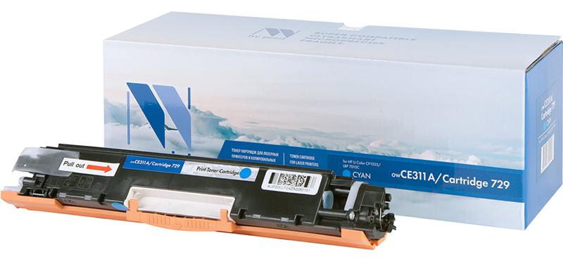 CE311A для Color CP1020, CP1025, M175a, M275 (Cyan)