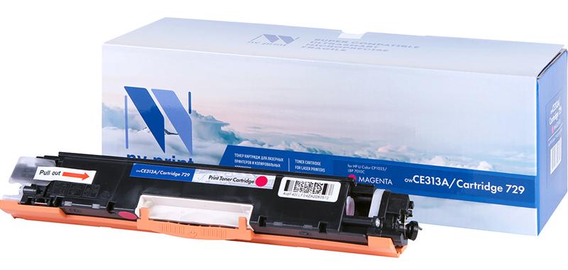 CE313A для Color CP1020, CP1025, M175a, M275 (Magenta)