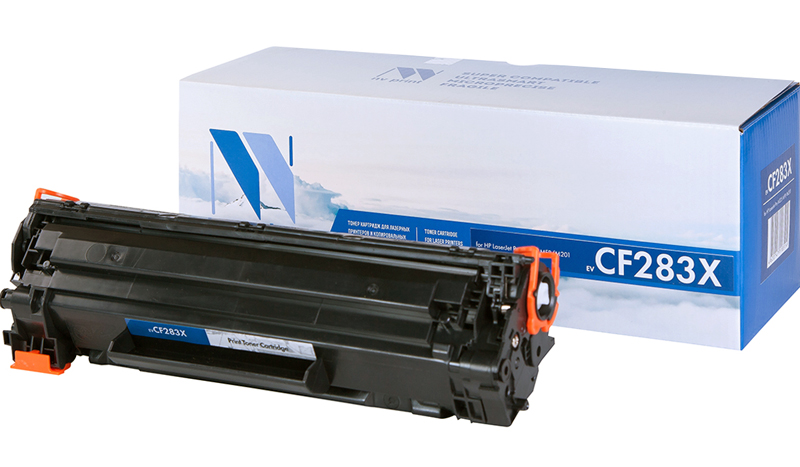 CF283X картридж для HP M201, M225
